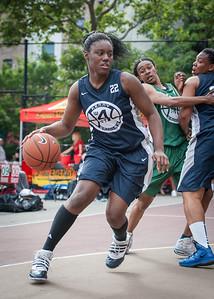 Janera Johnson  West 4th Street Women's Pro Classic NYC: Quiet Storm (Green) 50 v Impulse (Navy) 36, William F. Passannante Ballfield, New York, NY, June 9, 2012