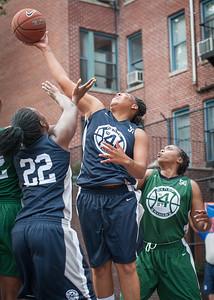 Sarrisa Gaskins, Janera Johnson, Rachelle Brown West 4th Street Women's Pro Classic NYC: Quiet Storm (Green) 50 v Impulse (Navy) 36, William F. Passannante Ballfield, New York, NY, June 9, 2012