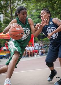 Candice Lloyd, Michelle Smith West 4th Street Women's Pro Classic NYC: Quiet Storm (Green) 50 v Impulse (Navy) 36, William F. Passannante Ballfield, New York, NY, June 9, 2012