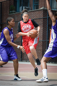 Shelby Davis West 4th Street Women's Pro Classic NYC: Da Bizznezz (Purple) 47 v Ball 4 Life (Red) 49, William F. Passannante Ballfield, New York, NY, June 17, 2012