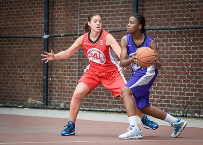 Lindsay Cobb, Raven Bryant West 4th Street Women's Pro Classic NYC: Da Bizznezz (Purple) 47 v Ball 4 Life (Red) 49, William F. Passannante Ballfield, New York, NY, June 17, 2012
