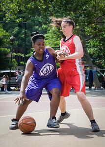 Telisha Moultrie, Liz Peach West 4th Street Women's Pro Classic NYC: Da Bizznezz (Purple) 47 v Ball 4 Life (Red) 49, William F. Passannante Ballfield, New York, NY, June 17, 2012
