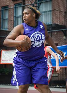 Raygan Plummer West 4th Street Women's Pro Classic NYC: Da Bizznezz (Purple) 47 v Ball 4 Life (Red) 49, William F. Passannante Ballfield, New York, NY, June 17, 2012