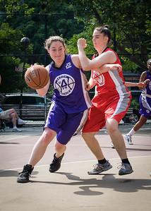 Kathleen Firtle West 4th Street Women's Pro Classic NYC: Da Bizznezz (Purple) 47 v Ball 4 Life (Red) 49, William F. Passannante Ballfield, New York, NY, June 17, 2012