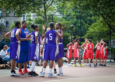 West 4th Street Women's Pro Classic NYC: Da Bizznezz (Purple) 47 v Ball 4 Life (Red) 49, William F. Passannante Ballfield, New York, NY, June 17, 2012