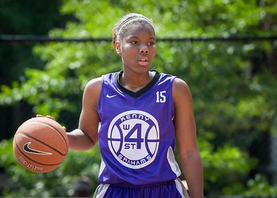 Alicea Ulmer West 4th Street Women's Pro Classic NYC: Da Bizznezz (Purple) 47 v Ball 4 Life (Red) 49, William F. Passannante Ballfield, New York, NY, June 17, 2012