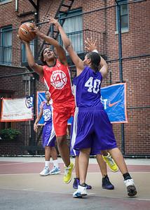 Erin Isbell, Jamilla Williams West 4th Street Women's Pro Classic NYC: Da Bizznezz (Purple) 47 v Ball 4 Life (Red) 49, William F. Passannante Ballfield, New York, NY, June 17, 2012