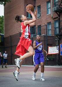 Laurence Mathieu-Leger West 4th Street Women's Pro Classic NYC: Da Bizznezz (Purple) 47 v Ball 4 Life (Red) 49, William F. Passannante Ballfield, New York, NY, June 17, 2012