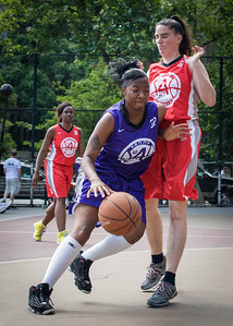 Shannelle Brown, Liz Peach West 4th Street Women's Pro Classic NYC: Da Bizznezz (Purple) 47 v Ball 4 Life (Red) 49, William F. Passannante Ballfield, New York, NY, June 17, 2012