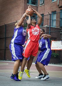 Raygan Plummer, Erin Isbell, Jamilla Williams West 4th Street Women's Pro Classic NYC: Da Bizznezz (Purple) 47 v Ball 4 Life (Red) 49, William F. Passannante Ballfield, New York, NY, June 17, 2012