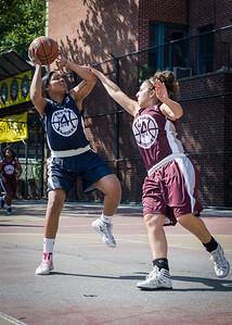 Angel Porter, Victoria Fleisher West 4th Street Women's Pro Classic NYC: No Limit (Navy) 64 v Saints (Burgundy) 35, William F. Passannante Ballfield, New York, NY, June 17, 2012