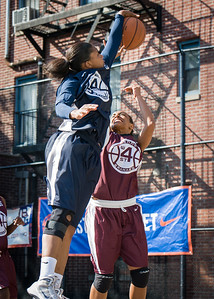 Whitney Toone, Imani Jones West 4th Street Women's Pro Classic NYC: No Limit (Navy) 64 v Saints (Burgundy) 35, William F. Passannante Ballfield, New York, NY, June 17, 2012