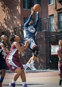 Whitney Toone West 4th Street Women's Pro Classic NYC: No Limit (Navy) 64 v Saints (Burgundy) 35, William F. Passannante Ballfield, New York, NY, June 17, 2012