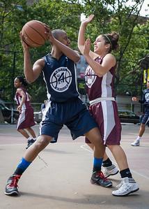Alana Nedd, Victoria Fleisher West 4th Street Women's Pro Classic NYC: No Limit (Navy) 64 v Saints (Burgundy) 35, William F. Passannante Ballfield, New York, NY, June 17, 2012