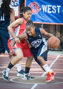 Nina Granberry, Anika Rivera West 4th Street Women's Pro Classic NYC: Big East Ballers (Red) 63 v Impulse (Navy) 64, William F. Passannante Ballfield, New York, NY, June 17, 2012