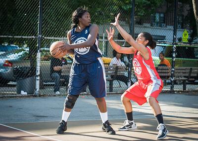 Telisha Moultrie, Anika Rivera West 4th Street Women's Pro Classic NYC: Big East Ballers (Red) 63 v Impulse (Navy) 64, William F. Passannante Ballfield, New York, NY, June 17, 2012
