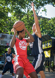 Macaulay Victoria, Jarosz Tori West 4th Street Women's Pro Classic NYC: Big East Ballers (Red) 63 v Impulse (Navy) 64, William F. Passannante Ballfield, New York, NY, June 17, 2012