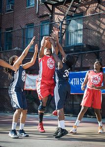 Kellindra Zackery, Telisha Moultrie West 4th Street Women's Pro Classic NYC: Big East Ballers (Red) 63 v Impulse (Navy) 64, William F. Passannante Ballfield, New York, NY, June 17, 2012