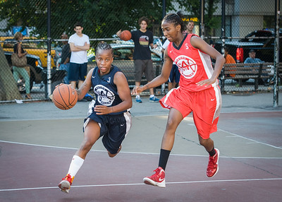 Nina Granberry, Shenneika Smith West 4th Street Women's Pro Classic NYC: Big East Ballers (Red) 63 v Impulse (Navy) 64, William F. Passannante Ballfield, New York, NY, June 17, 2012