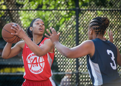 Anika Rivera West 4th Street Women's Pro Classic NYC: Big East Ballers (Red) 63 v Impulse (Navy) 64, William F. Passannante Ballfield, New York, NY, June 17, 2012