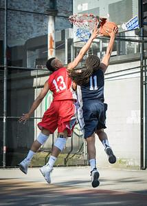 Nadia Duncan, Nicole Rhem West 4th Street Women's Pro Classic NYC: Big East Ballers (Red) 63 v Impulse (Navy) 64, William F. Passannante Ballfield, New York, NY, June 17, 2012