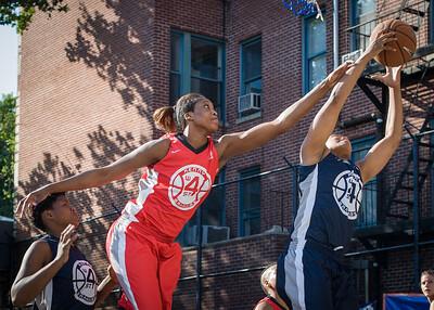 Macaulay Victoria, Nadia Duncan West 4th Street Women's Pro Classic NYC: Big East Ballers (Red) 63 v Impulse (Navy) 64, William F. Passannante Ballfield, New York, NY, June 17, 2012