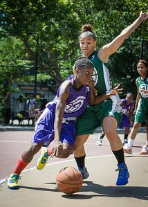 Deonna Artis, Marissa Flagg West 4th Street Women's Pro Classic NYC: Exodus NYC Apache (Green) 61 v Da Bizznezz (Purple) 42, William F. Passannante Ballfield, New York, NY, June 23, 2012