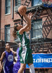 Cherise George West 4th Street Women's Pro Classic NYC: Exodus NYC Apache (Green) 61 v Da Bizznezz (Purple) 42, William F. Passannante Ballfield, New York, NY, June 23, 2012