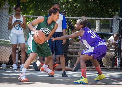 Erica Morrow, Deonna Artis West 4th Street Women's Pro Classic NYC: Exodus NYC Apache (Green) 61 v Da Bizznezz (Purple) 42, William F. Passannante Ballfield, New York, NY, June 23, 2012