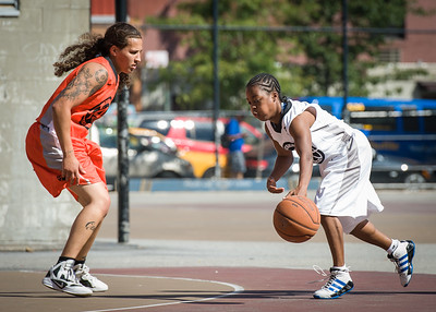 Shemar Stewerson, Nicky Young West 4th Street Women's Pro Classic NYC: Lady Falcons (White) 51 v Deuce Trey (Orange) 33, William F. Passannante Ballfield, New York, NY, June 23, 2012