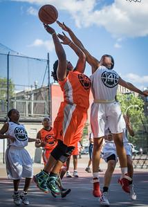 Lawanda Greene, Sky Lindsay West 4th Street Women's Pro Classic NYC: Lady Falcons (White) 51 v Deuce Trey (Orange) 33, William F. Passannante Ballfield, New York, NY, June 23, 2012