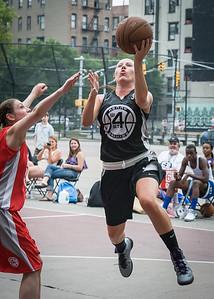 Amanda Bartlett West 4th Street Women's Pro Classic NYC: Cobra Hustlers (Black) 72 v Ball 4 Life (Red) 52, William F. Passannante Ballfield, New York, NY, July 7, 2012