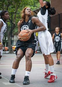 Nijah LaCourt West 4th Street Women's Pro Classic NYC: Down the Hatch (Black) 69 v Crossover (White) 36, William F. Passannante Ballfield, New York, NY, July 14, 2012