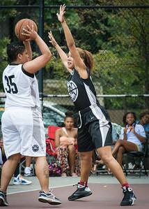 Jasma Dorsey, Roslyn Gold West 4th Street Women's Pro Classic NYC: Down the Hatch (Black) 69 v Crossover (White) 36, William F. Passannante Ballfield, New York, NY, July 14, 2012