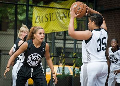 Roslyn Gold, Jasma Dorsey West 4th Street Women's Pro Classic NYC: Down the Hatch (Black) 69 v Crossover (White) 36, William F. Passannante Ballfield, New York, NY, July 14, 2012