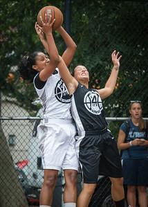 I. Maldonaldo, Meghan Mahoney West 4th Street Women's Pro Classic NYC: Down the Hatch (Black) 69 v Crossover (White) 36, William F. Passannante Ballfield, New York, NY, July 14, 2012