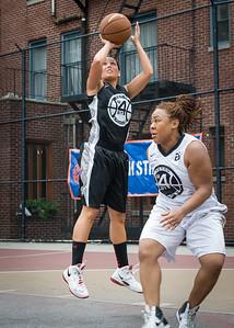 Meghan Mahoney, Shantina Brown West 4th Street Women's Pro Classic NYC: Down the Hatch (Black) 69 v Crossover (White) 36, William F. Passannante Ballfield, New York, NY, July 14, 2012