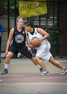 Jasma Dorsey, Kerri White West 4th Street Women's Pro Classic NYC: Down the Hatch (Black) 69 v Crossover (White) 36, William F. Passannante Ballfield, New York, NY, July 14, 2012