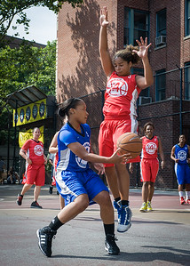 Desiree Simmons West 4th Street Women's Pro Classic NYC: Lady Soldiers (Blue) 106 v Ball 4 Life (Red) 62, William F. Passannante Ballfield, New York, NY, July 14, 2012