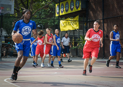 Terry Green, Shelby Davis West 4th Street Women's Pro Classic NYC: Lady Soldiers (Blue) 106 v Ball 4 Life (Red) 62, William F. Passannante Ballfield, New York, NY, July 14, 2012