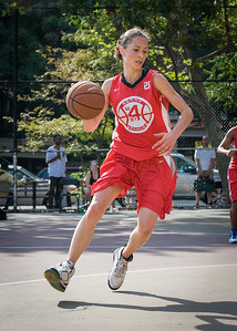 Laurence Mathieu-Leger West 4th Street Women's Pro Classic NYC: Lady Soldiers (Blue) 106 v Ball 4 Life (Red) 62, William F. Passannante Ballfield, New York, NY, July 14, 2012