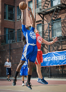 Terry Green, Lindsay Cobb West 4th Street Women's Pro Classic NYC: Lady Soldiers (Blue) 106 v Ball 4 Life (Red) 62, William F. Passannante Ballfield, New York, NY, July 14, 2012