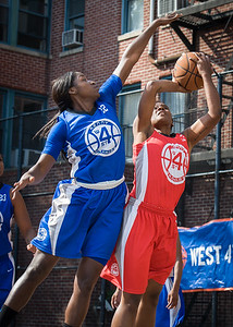 Erin Isbell, Nubia Hayes West 4th Street Women's Pro Classic NYC: Lady Soldiers (Blue) 106 v Ball 4 Life (Red) 62, William F. Passannante Ballfield, New York, NY, July 14, 2012