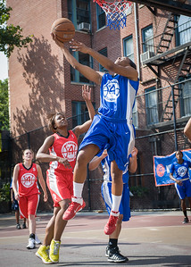 Eugeneia McPherson West 4th Street Women's Pro Classic NYC: Lady Soldiers (Blue) 106 v Ball 4 Life (Red) 62, William F. Passannante Ballfield, New York, NY, July 14, 2012
