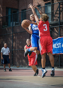 Marika Sprow West 4th Street Women's Pro Classic NYC: Lady Soldiers (Blue) 106 v Ball 4 Life (Red) 62, William F. Passannante Ballfield, New York, NY, July 14, 2012
