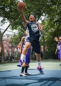 "Sarissa Gaskins West 4th Street Women's Pro Classic NYC: Run N Shoot (Purple) 79 v Impulse (Navy) 49, ""The Cage"", New York, NY, July 15, 2012"