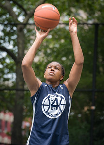 "Nadia Duncan West 4th Street Women's Pro Classic NYC: Run N Shoot (Purple) 79 v Impulse (Navy) 49, ""The Cage"", New York, NY, July 15, 2012"