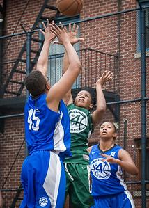 Dana Wynne West 4th Street Women's Pro Classic NYC: Primetime (Blue) 82 v Quiet Storm (Green) 51, William F. Passannante Ballfield, New York, NY, July 15, 2012