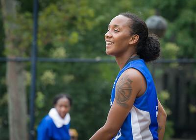 Renee Taylor West 4th Street Women's Pro Classic NYC: Primetime (Blue) 82 v Quiet Storm (Green) 51, William F. Passannante Ballfield, New York, NY, July 15, 2012