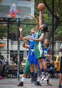 Marcelyn Williams, Crystal McFadden West 4th Street Women's Pro Classic NYC: Primetime (Blue) 82 v Quiet Storm (Green) 51, William F. Passannante Ballfield, New York, NY, July 15, 2012